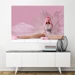 โปสเตอร์ ขนาดใหญ่ ภาพ Nicki Minaj pink friday cover