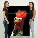 โปสเตอร์ ขนาดใหญ่ ภาพ Beaker The Muppet Show