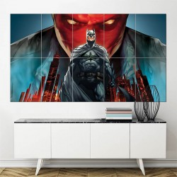 โปสเตอร์ ขนาดใหญ่ ภาพ Batman Under The Red Hood Jason Todd  (P-0972)