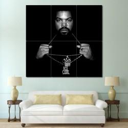 โปสเตอร์ ขนาดใหญ่ นักร้อง Ice Cube Rapper Hip Hop Music (P-0984)