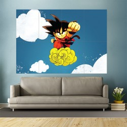 Anime Dragon Ball Block Giant Wall Art Poster (P-1011)