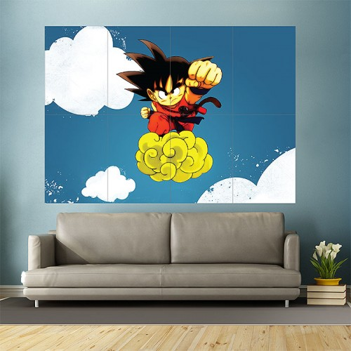 Anime Dragon Ball Block Giant Wall Art Poster
