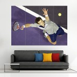 Andy Murray Tennis Block Giant Wall Art Poster