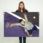Andy Murray Tennis Block Giant Wall Art Poster