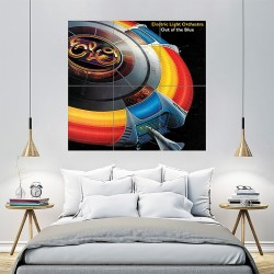 ELO Electric Light Orchestra Block Giant Wall Art Poster (P-1034)