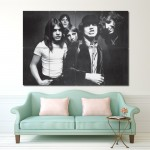 Ac dc Rock Music Band Block Giant Wall Art Poster