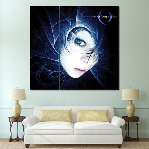 A Perfect Circle Block Giant Wall Art Poster