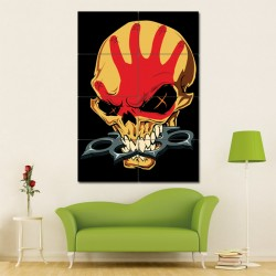 Five Finger Death Punch Block Giant Wall Art Poster (P-1052)