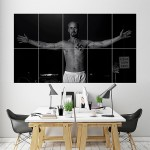 Edward Norton American History X Block Giant Wall Art Poster