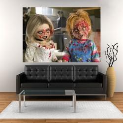 Bride Of Chucky Block Giant Wall Art Poster (P-1060)