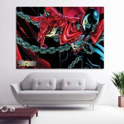 Spawn Comic Book Super Hero Block Giant Wall Art Poster (P-1072)