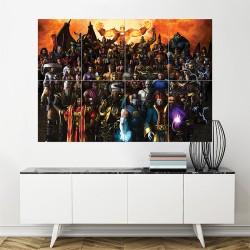 โปสเตอร์ ขนาดใหญ่ เกมส์ Mortal Kombat Armageddon  (P-1080)