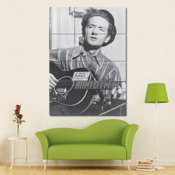 โปสเตอร์ ขนาดใหญ่ นักร้อง Woody Guthrie (P-1087)