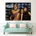 โปสเตอร์ ขนาดใหญ่ ภาพวงดนตรี TLC ทีแอลซี