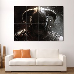 The Elder Scrolls V Skyrim Block Giant Wall Art Poster (P-1096)