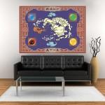 โปสเตอร์ ขนาดใหญ่ แผนที่ Avatar The Last Airbender Map
