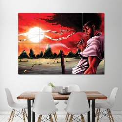 Afro Samurai Manga Cool Anime Block Giant Wall Art Poster (P-1103)