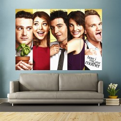 How I Met Your Mother Block Giant Wall Art Poster (P-1123)