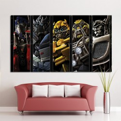 Transformers Autobots Block Giant Wall Art Poster (P-1126)