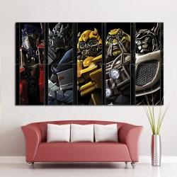 Transformers Autobots Block Giant Wall Art Poster (P-1126)