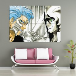 Grimmjow VS Ulquiorra Bleach Block Giant Wall Art Poster (P-1130)