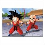โปสเตอร์ ยักษ์ การ์ตูน ดราก้อนบอล  Dragon Ball Z Kamesen