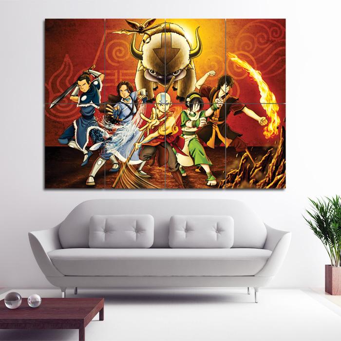 Avatar 2 X 12: Avatar Der Herr Der Elemente Wand-Kunstdruck Riesenposter