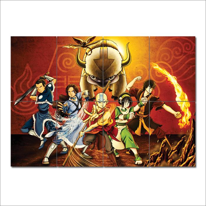 Avatar Der Herr Der Elemente Wand Kunstdruck Riesenposter
