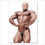 Ben Pakulski Bodybuilder Block Giant Wall Art Poster