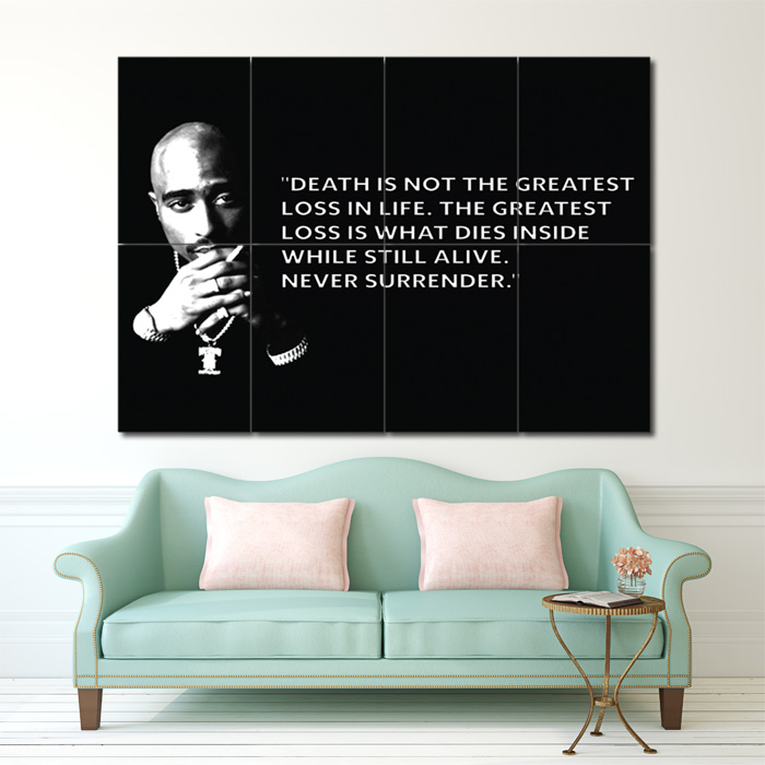 Giant Wall Art quote block giant wall art poster