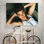 โปสเตอร์ ขนาดใหญ่ นักร้อง Justin Bieber
