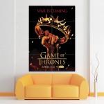 โปสเตอร์ ขนาดใหญ่ ภาพหนังซีรี่ส์ Games of Thrones Crown