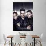 โปสเตอร์ ขนาดใหญ่ วงดนตรี Depeche Mode