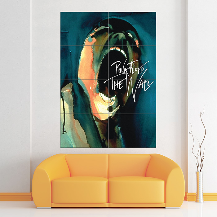 Giant Wall Art floyd the wall block giant wall art poster