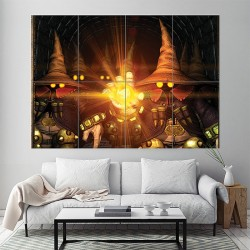 Final Fantasy IX Block Giant Wall Art Poster (P-1219)
