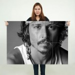 Johnny Depp Movie Block Giant Wall Art Poster