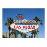 Welcome to Fabulous Las Vegas sign Block Giant Wall Art Poster