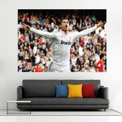 Cristiano Ronaldo Block Giant Wall Art Poster (P-1256)