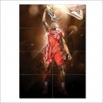 โปสเตอร์ ขนาดใหญ่ Kevin Durant NBA Basketball