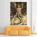 โปสเตอร์ ขนาดใหญ่ William Blake The Great Red Dragon