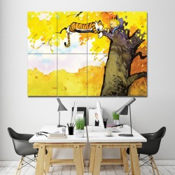 Calvin and Hobbes Block Giant Wall Art Poster (P-1275)