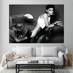 The Girl with the Dragon Tattoo Block Giant Wall Art Poster (P-1281)