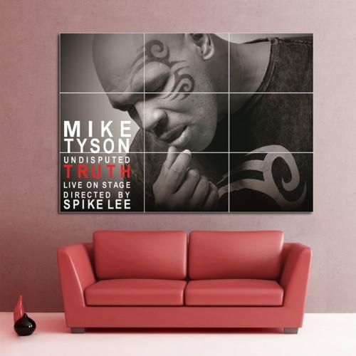 โปสเตอร์ ขนาดใหญ่ นักกีฬามวย Mike Tyson ไมค์ ไทสัน