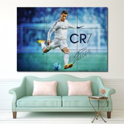 Cristiano Ronaldo Block Giant Wall Art Poster (P-1297)
