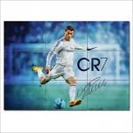 โปสเตอร์ ขนาดใหญ่ นักฟุตบอล Cristiano Ronaldo