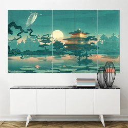 Japanese art  Block Giant Wall Art Poster (P-1298)