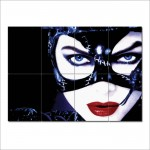 Catwoman Michelle Pfeiffer-V2 Block Giant Wall Art Poster