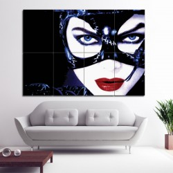 Catwoman Michelle Pfeiffer-V2 Block Giant Wall Art Poster (P-1300)