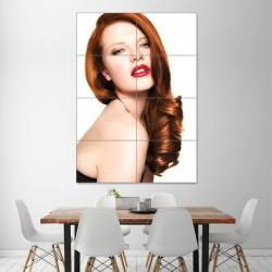โปสเตอร์ ขนาดใหญ่ ภาพทรงผมผู้หญิง ทรงผม สไตล์ฮอลลีวูด (P-1318)