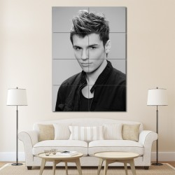 Hot Cut Men's Hairstyles Barber Haircuts Block Giant Wall Art Poster (P-1320)